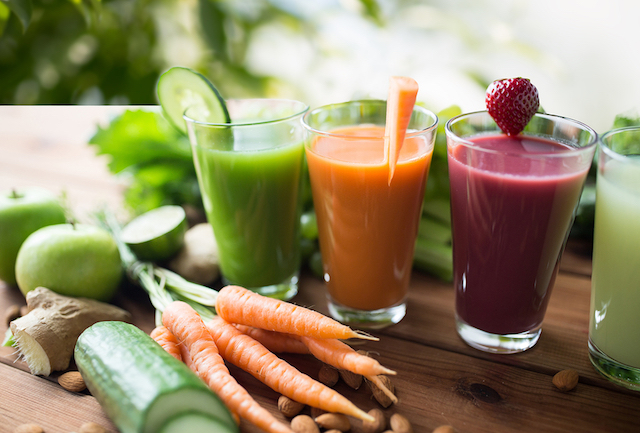 Two Fresh Juices