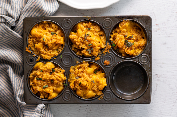 Vegan Mac and Cheese Muffins